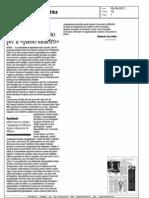La Mossa Di Casini e Il Rilancio Del Piano Per Il Passo Indietro - Corriere della Sera del 05.08.11
