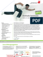Bildungsprogramm der IG BCE 1. Quartal 2012
