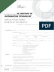 PHD Application Form