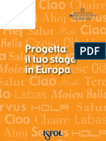 Manuale Per Lo Stage in Europa