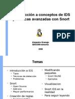 Introduccion a Conceptos de IDS y Tecnicas Avanzadas Con Snort