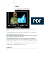 Queen of Green to Partner With Aldar
