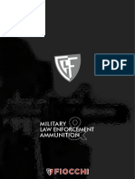 Fiocchi LE/MIL Ammo Catalog