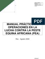 Manual Practico de Operaciones en La Lucha Contra Pea (2008)