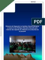 Eléments de Diagnostic du Système Educatif Malagasy
