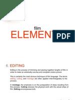 12 Film Elements - Editing