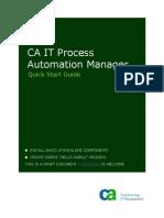 CA - ITPAM - Quick Start Guide