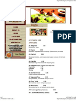 Appetizersslkids Menu