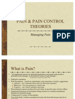 Pain Control Theories