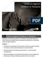Violence Against Children in Tanzania