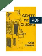 Edwards, Jorge - Gente de La Ciudad