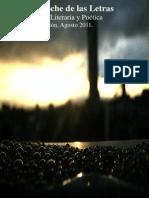 2da edición revista literaria y poética La Noche de las Letras