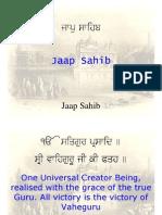 Jaap Sahib English)