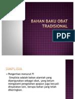 Bahan Baku Obat Tradisional (Oai) 4