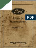 Ford a 1929 - Libro de Instrucciones SPA