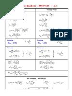 13D API Hydraulics Equations