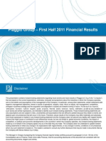 Presentation - 1st Half 2011 Results