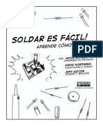 "Comic Soldar Es Facil Español ""Soldering is Easy"""