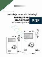 Instrukcja do Stacji Pomp SR961