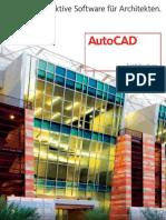 Autocad Architecture Detail Brochure a4 De