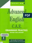 Advanced English CAE Grammar Practice