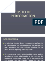Tema 11 - Costo de Perforación 2