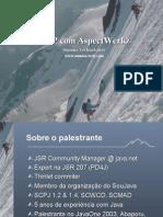 AOP Com AspectWerkz