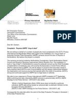 Royston Ring of Steel ANPR Complaint