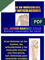 Lesiones en Musculos, Huesos y Articulaciones