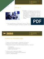 Exodo Brochure