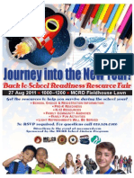 2011 Back to School Readiness Resource Flyer