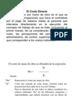 COSTO HORARIO DE MAQUINARIA Y EQUIPO DE CONSTRUCCIÓN