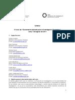 Syllabus Econometría