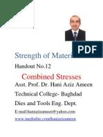 Strength of Materials- Combined Stresses- Hani Aziz Ameen