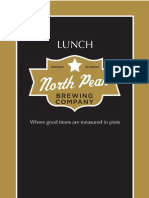 Lunch Menu North Peak Brewing Company