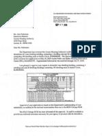 HUD Demolition Approval for JC