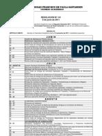 calendario segundo semestre UFPS