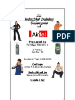 AIRTEL MBA Project report Prince dudhatra