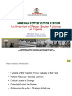 2 Overview of Power Sector Reforms