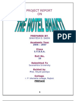 BHAKTI MBA Project Report Prince Dudhatra
