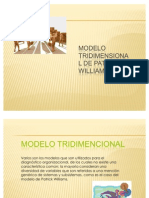 Modelo Tri Dimensional de Patrick Williams 1