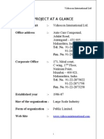 Gautam Vediocon MBA Porject Report Prince Dudhatra