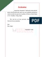 Hero Honda Report MBA Porject Report Prince Dudhatra