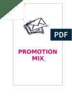 Promotion Mix-Prince Dudhatra