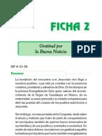 Ficha 2 - Gratitud Por La Buena Noticia