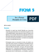 Ficha 5 - Ser y Formar Discipulos de Cristo