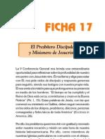 Ficha 17 - Presbiteros
