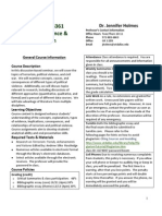 UT Dallas Syllabus for poec6361.001.11f taught by Jennifer Holmes (jholmes)