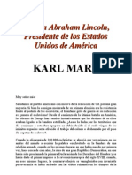 Carta a Abraham Lincoln