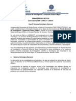 CNA Demandas Especificas Area 2 Sistema Hidrologico Nacional 1 2008 01